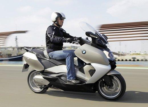 BMW C 650 GT video ufficiale del maxi scooter turistico BMW - Foto 56 di 76