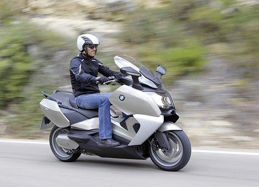 BMW C 650 GT video ufficiale del maxi scooter turistico BMW - Foto 39 di 76