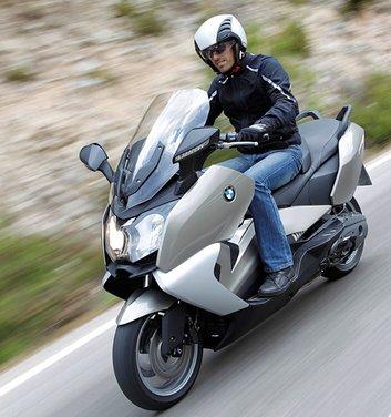 BMW C 650 GT video ufficiale del maxi scooter turistico BMW - Foto 72 di 76
