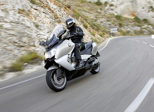 BMW C 650 GT video ufficiale del maxi scooter turistico BMW - Foto 46 di 76