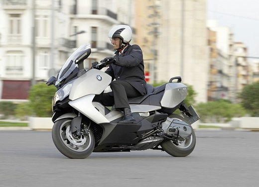 BMW C 650 GT video ufficiale del maxi scooter turistico BMW - Foto 51 di 76