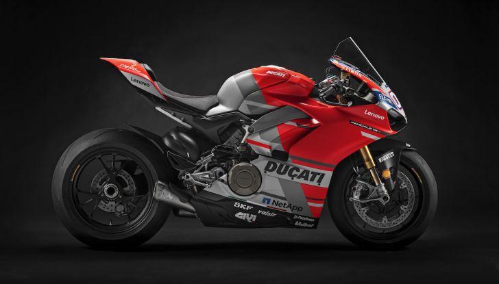 Le Ducati 12 Panigale V4 del WDW 2018 all'asta su eBay - Foto 3 di 6