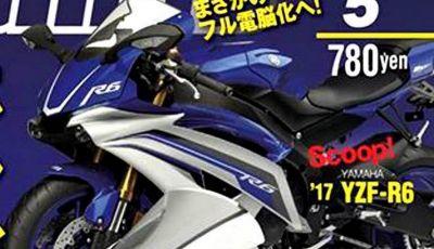 Yamaha YZF-R6 2017: Tutta sua madre, R1 2015