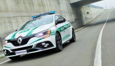 Renault Mégane RS, versione speciale per la Polizia Locale