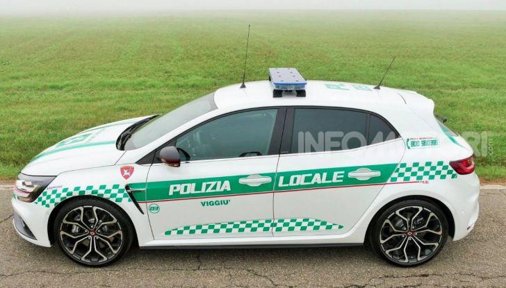 Renault Mégane RS, versione speciale per la Polizia Locale - Foto 7 di 8