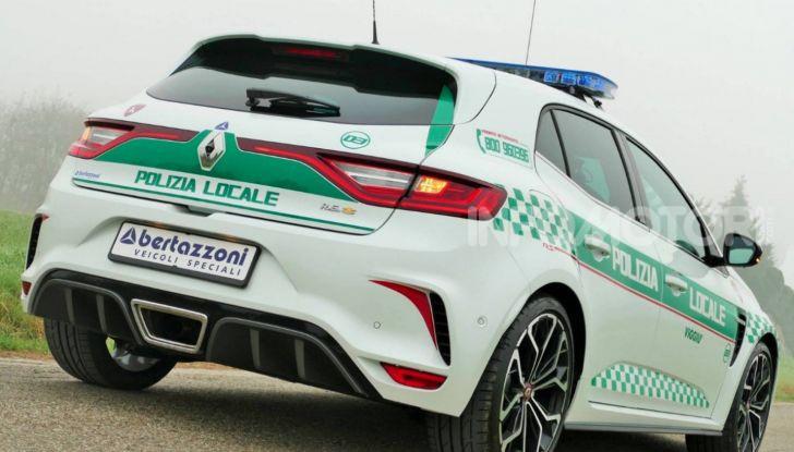 Renault Mégane RS, versione speciale per la Polizia Locale - Foto 2 di 8