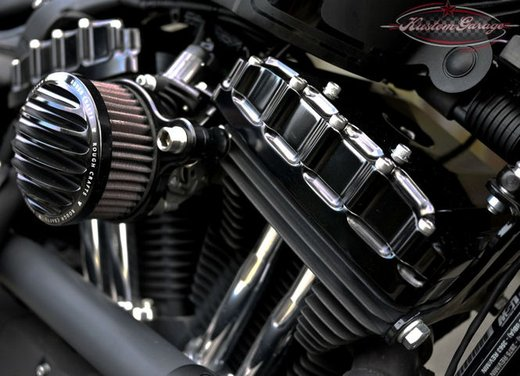 Harley Davidson Sportster Forty Eight Bomb Runner by Rough Crafts - Foto 13 di 13