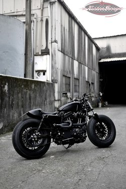Harley Davidson Sportster Forty Eight Bomb Runner by Rough Crafts - Foto 4 di 13