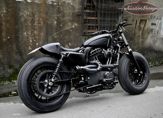 Harley Davidson Sportster Forty Eight Bomb Runner by Rough Crafts - Foto 3 di 13