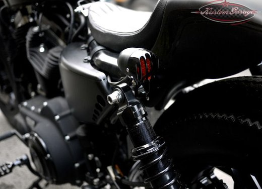 Harley Davidson Sportster Forty Eight Bomb Runner by Rough Crafts - Foto 6 di 13