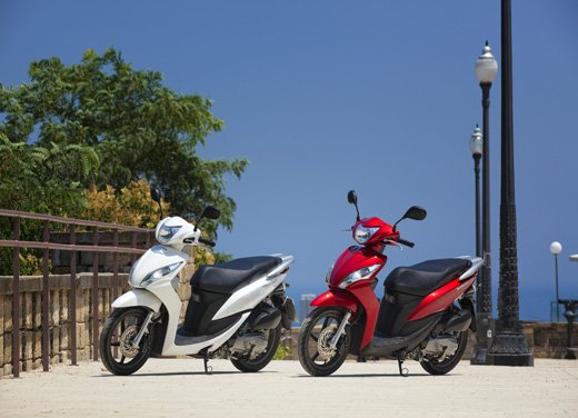 Honda Vision 110: long test ride del nuovo scooter Honda - Foto 17 di 25