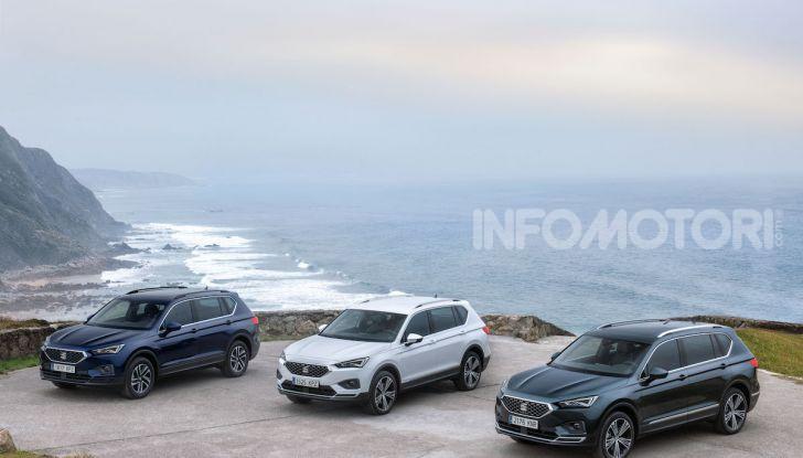 Prova su strada Seat Tarraco: il SUV sportivo è ammiraglia del marchio - Foto 27 di 49