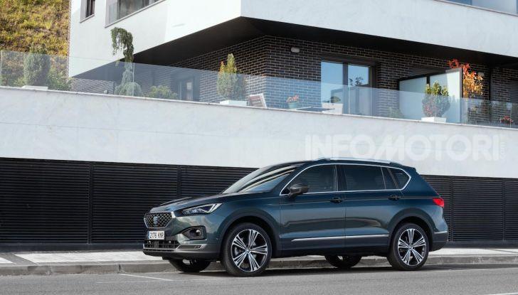 Prova su strada Seat Tarraco: il SUV sportivo è ammiraglia del marchio - Foto 35 di 49