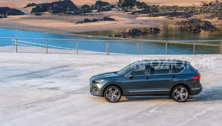 Prova su strada Seat Tarraco: il SUV sportivo è ammiraglia del marchio - Foto 40 di 49