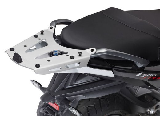 BMW C 600 Sport C 650 GT, accessori GIVI per i maxi scooter BMW - Foto 5 di 5