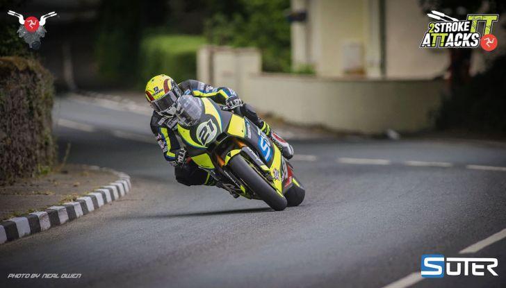 La Suter MMX500 2T contro le Superbike nel National Trophy a Misano - Foto 6 di 7