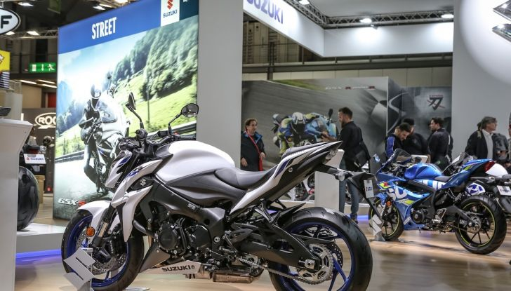 Tutte le novità di Suzuki ad Eicma 2018 - Foto 25 di 47