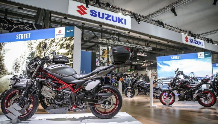 Tutte le novità di Suzuki ad Eicma 2018 - Foto 28 di 47