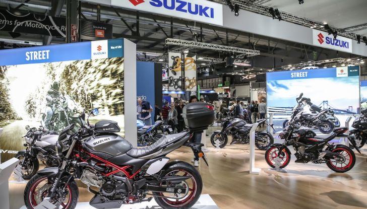 Tutte le novità di Suzuki ad Eicma 2018 - Foto 29 di 47
