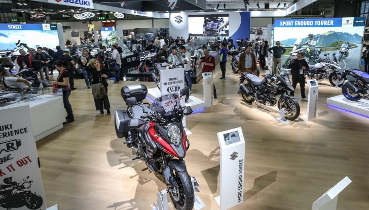 Tutte le novità di Suzuki ad Eicma 2018 - Foto 33 di 47