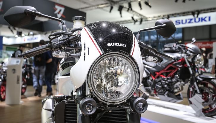 Tutte le novità di Suzuki ad Eicma 2018 - Foto 46 di 47