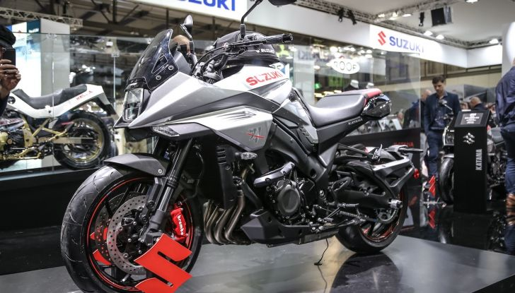 Tutte le novità di Suzuki ad Eicma 2018 - Foto 9 di 47