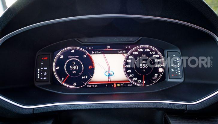 Prova su strada Seat Tarraco: il SUV sportivo è ammiraglia del marchio - Foto 12 di 49
