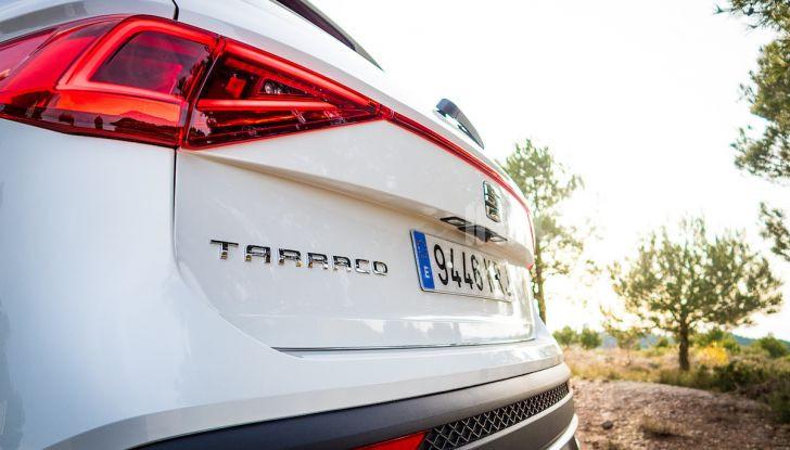 Prova su strada Seat Tarraco: il SUV sportivo è ammiraglia del marchio - Foto 15 di 49