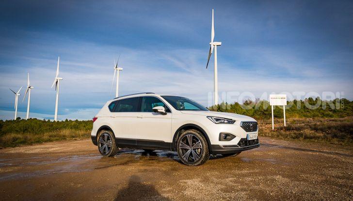 Prova su strada Seat Tarraco: il SUV sportivo è ammiraglia del marchio - Foto 18 di 49