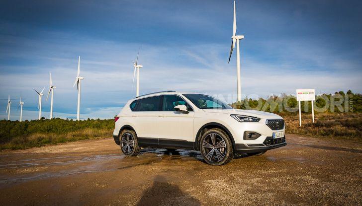 Prova su strada Seat Tarraco: il SUV sportivo è ammiraglia del marchio - Foto 19 di 49