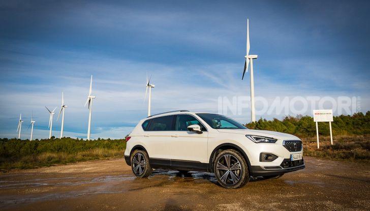 Prova su strada Seat Tarraco: il SUV sportivo è ammiraglia del marchio - Foto 20 di 49