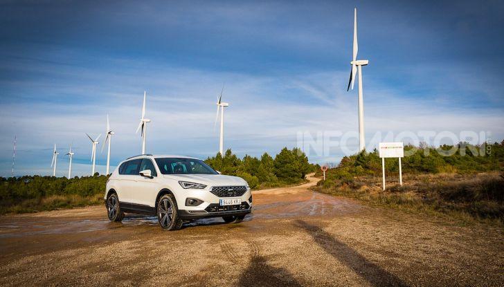 Prova su strada Seat Tarraco: il SUV sportivo è ammiraglia del marchio - Foto 21 di 49