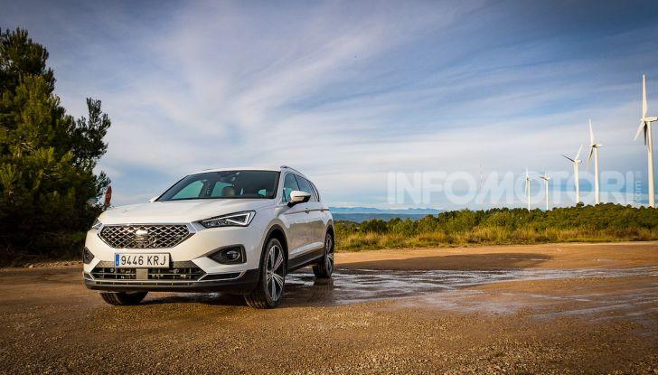 Prova su strada Seat Tarraco: il SUV sportivo è ammiraglia del marchio - Foto 23 di 49