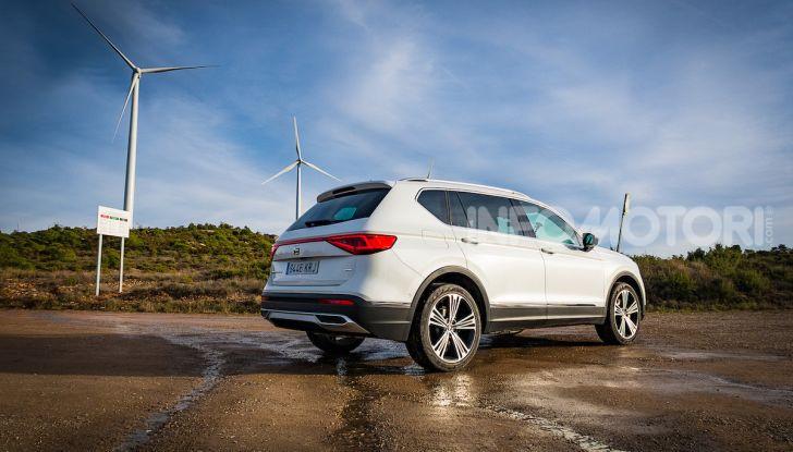 Prova su strada Seat Tarraco: il SUV sportivo è ammiraglia del marchio - Foto 24 di 49