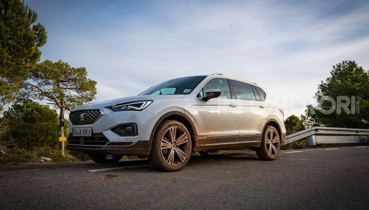 Prova su strada Seat Tarraco: il SUV sportivo è ammiraglia del marchio - Foto 26 di 49