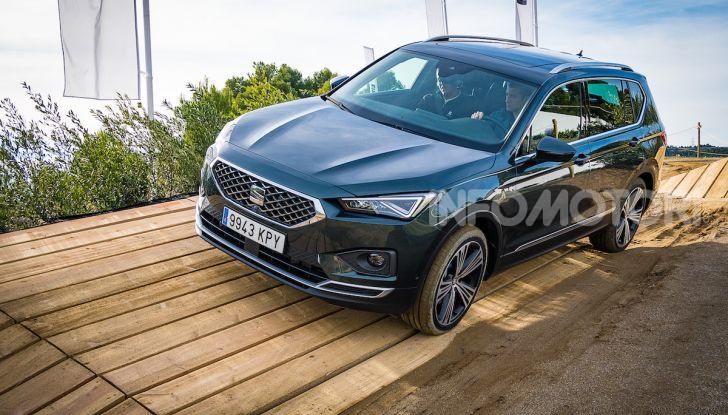 Prova su strada Seat Tarraco: il SUV sportivo è ammiraglia del marchio - Foto 3 di 49