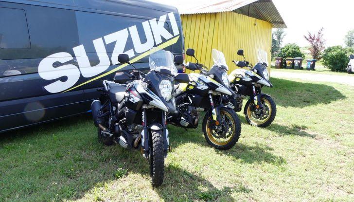 Suzuki V-Strom Academy 2018: imparare il fuoristrada con le Maxienduro - Foto 1 di 10