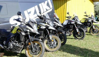 Suzuki V-Strom Academy 2018: imparare il fuoristrada con le Maxienduro