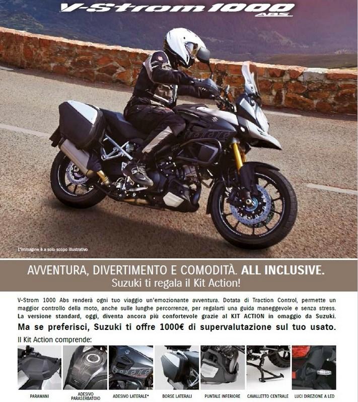 Suzuki, offerte sulla gamma V-Strom 650 ABS e XT, SV650 ABS e scooter - Foto 4 di 7