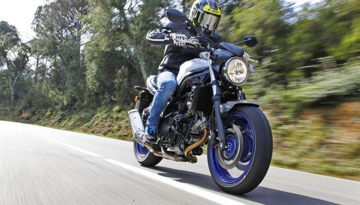 Suzuki, offerte sulla gamma V-Strom 650 ABS e XT, SV650 ABS e scooter - Foto 2 di 7