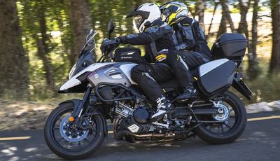 Novità Suzuki 2018: V-Strom 1000 Feel More e Globe Rider