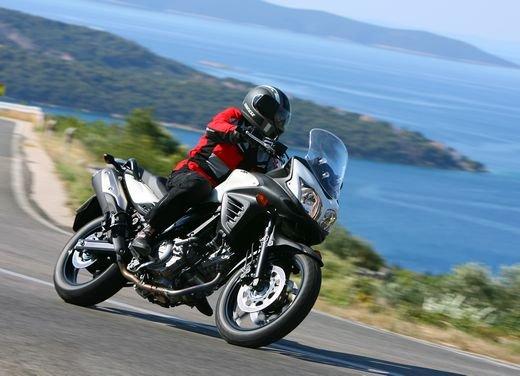Nuova Suzuki V-Strom 650: prestazioni, concretezza e guidabilità