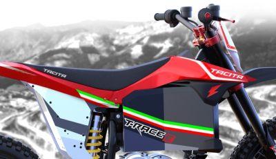 Tacita T-Race, la moto elettrica da enduro novità 2018