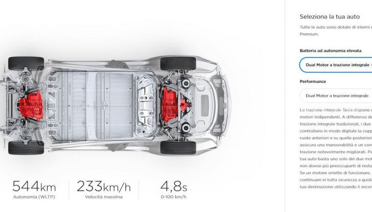 Tesla Model 3: Quanto costa, come ordinarla e quando arriva - Foto 1 di 23