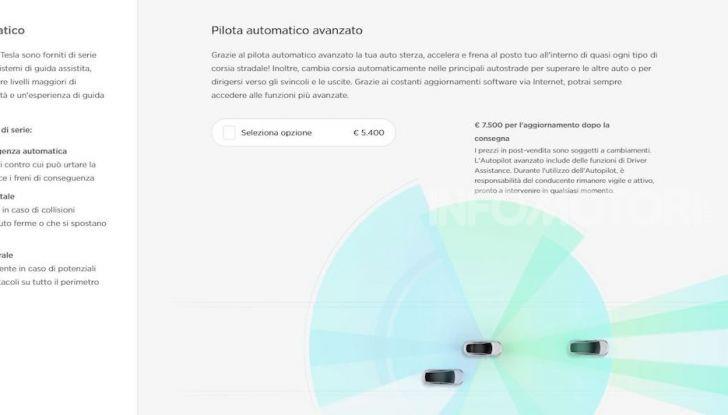 Tesla Model 3: Quanto costa, come ordinarla e quando arriva - Foto 6 di 23