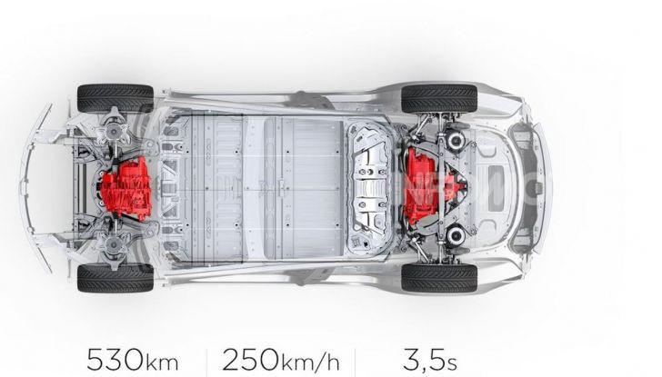 Tesla Model 3 diventa una consolle per videogame - Foto 2 di 23