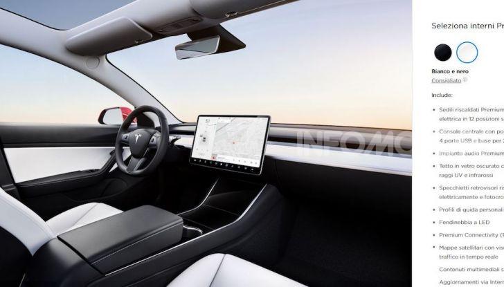 Tesla Model 3: Quanto costa, come ordinarla e quando arriva - Foto 3 di 23