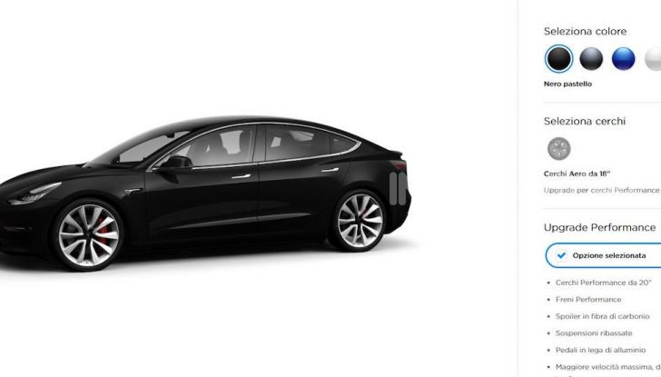 Tesla Model 3: Quanto costa, come ordinarla e quando arriva - Foto 4 di 23