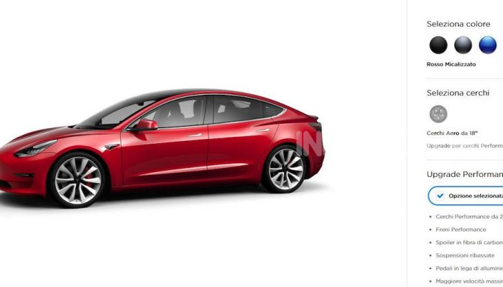 Tesla Model 3: Quanto costa, come ordinarla e quando arriva - Foto 5 di 23