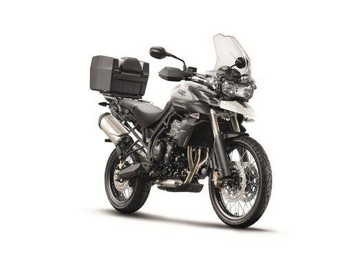 Triumph Extra: Tiger 800, Speed Triple e altri modelli con accessori in offerta - Foto 14 di 14